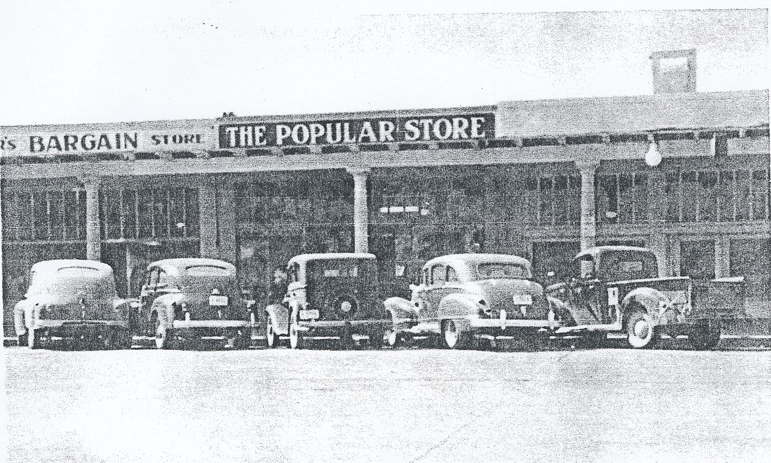 Serrano Brothers Popular Store, 1930s