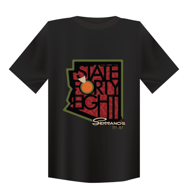 Serranos State Forty Eight Shirt